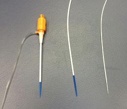 1470nmレーザー、高周波アブレーション治療で使用する針